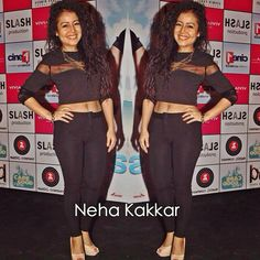 ❤❤❤ Neha Kakkar, Capri Pants, Dresses, Fashion, Vestidos, Moda, Capri Trousers, Fashion Styles, Dress