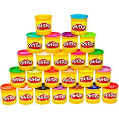 Play-Doh 24-Pack of Colors-about 15 bucks at Walmart! Using it for dinosaur fossil imprints. :)