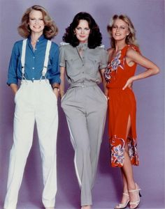 Charlie's Angels - Shelley Hack, Jaclyn Smith and Cheryl Ladd