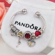 pandora heart bracelet how to open