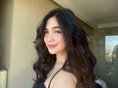 Pretty Woman, Pretty Girls, Asian Beauty, Heaven, Long Hair Styles, Lady, Instagram, Women, Sky
