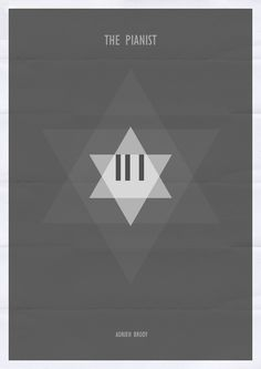 The Pianist minimalist film poster