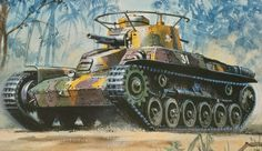 Roy Cross - Japanese CHI-HA Tank