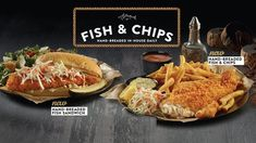 Swiss Chalet Introduces New Hand-Breaded Fish & Chips And Hand-Breaded Fish Sandwich - Canadify Fish Sandwich, Swiss Chalet, Paella, Sandwiches, Bread, Ethnic Recipes, Food, Fish And Chips, Brot