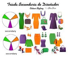 """Triada Secundaria de Diseñador"" by gildafuentesb on Polyvore"