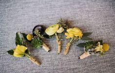 billy balls, raffia, succulents