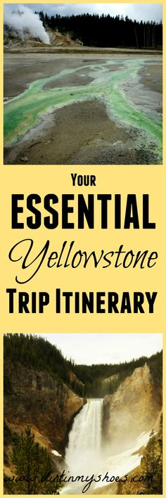 This is exactly what I've been looking for to make my trip easy!  Includes Yellowstone National Park tips and tricks, an hour-by-hour schedule, driving directions,  lodging and dining recommendations. and helpful links.  Awesome itinerary!