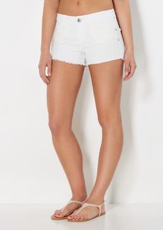 High waisted denim shorts curvy