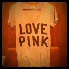 Victoria's Secret Pink short sleeve top Excellent condition PINK Victoria's Secret Tops Tees - Short Sleeve