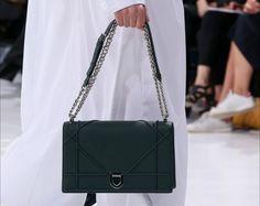 Shoulder bag verde Dior