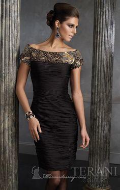 Terani 35056c Vestido - MissesDressy.com