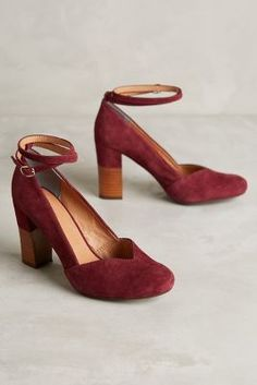 Lien.Do Lien. Do Pajaro Heels Oxblood 6.5 Heels #AnthroFave