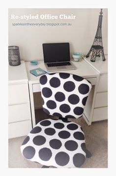 DIY re-styled office chair