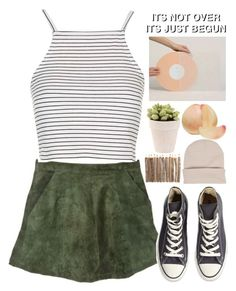 """""""the sound of ur heart + 4k contest winners"""" by fear-and-loathing ❤ liked on Polyvore featuring Olive, Topshop, Converse, TalisLittleTag, gottatagrandomn3ss and melsunicorns"""
