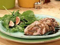 Gorgonzola-Stuffed Pork Tenderloin Recipe