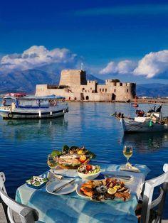Μπούρτζι, Ναύπλιο, Πελοπόννησος / Bourtzi Nafplion, Peloponnese, Greece (Hellas)