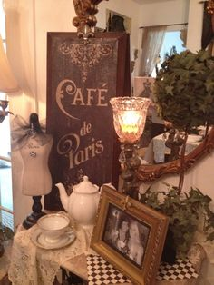 Paris party decor. Most of this was bought at hobby lobby in Lakeland