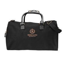 HENRI LLOYD  CULLEN OVERNIGHT BAG  €155 Stylish everyday bag from Henri Lloyd, made of durable canvas with elegant leather details. The classic Henri Lloyd emblem is included as a nice detail on the front. The bag is perfect as a training bag and an overnight bag.