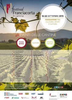 Festival Franciacorta in Cantina 2015 http://www.panesalamina.com/2015/39704-6-festival-franciacorta-in-cantina.html