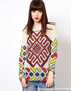 Crochetemoda: Túnicas