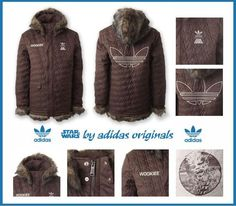 Mouse over image to zoom          Adidas Star Wars Wookie Jacket!!RARE