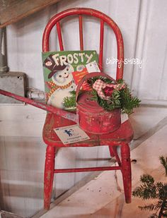 vintage christmas...love the Frosty book!