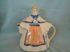 Vintage Shawnee Pottery Granny Ann Teapot made in Zanesville OH in Pottery & Glass, Pottery & China, Art Pottery | eBay