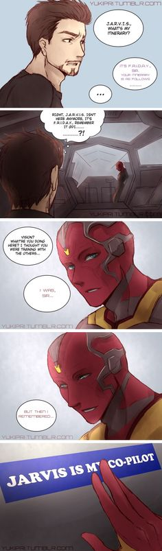 JARVIS IS MY CO-PILOT  ... Vision °°