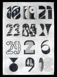 """tezzosuzuki: """" working for 2015 """" Hand Lettering Alphabet, Typography Letters, Typography Logo, Logos, Vintage Calendar, Graph Design, Vintage Typography, Vintage Graphic, Japanese Graphic Design"""