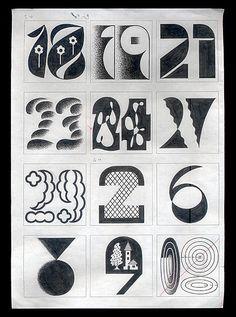 "tezzosuzuki: "" working for 2015 "" Vintage Typography, Typography Quotes, Typography Inspiration, Vintage Graphic, Hand Lettering Alphabet, Typography Letters, Vintage Calendar, Graph Design, Japanese Graphic Design"