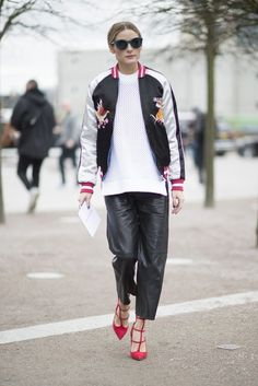 LFW - Olivia Palermo At London Fashion Week