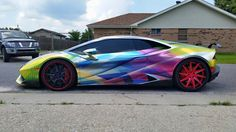 Incredible grafics Lamborghini Huracan from Kevin Kempf