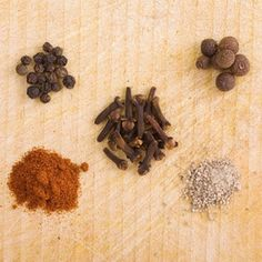 Do not rely on your eyesight alone to pick spices, use labels.