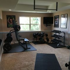 Things to Remember While Establishing a Gym at Home & Floor Plan Spotlight: The Fun and Practical Game Room | Pinterest ...