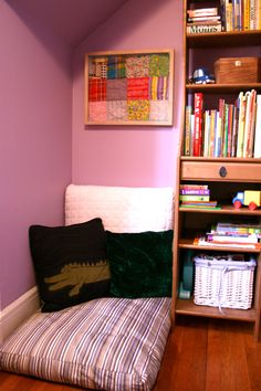 How cool! Just need a corner- great opportunity. Maybe a 2nd reading space downstairs? #PrimroseDreamCorner