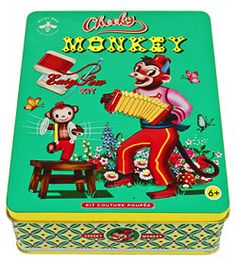 Kit de couture Monkey Wu & Wu Cotton Candy