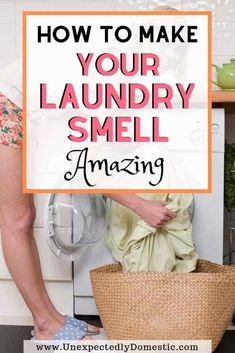 How to Make Your Laundry Smell Good (a ton of easy tricks!) How to make your laundry smell good! All the secret ways to make your clothes smell amazing naturally, and for longer. Here's your stinky laundry solution! House Cleaning Tips, Deep Cleaning, Spring Cleaning, Cleaning Hacks, White Vinegar Cleaning, Weekly Cleaning, Cleaning Checklist, Cleaning Recipes, Cleaning Products