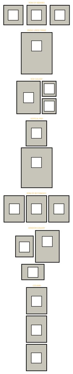 Different Wall Art Configurations | The Painted Hive