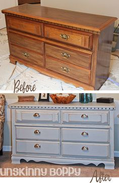 Tips on painting furniture so the paint doesn't chip or peel off.