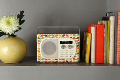 i want a little Orla Kiely radio!