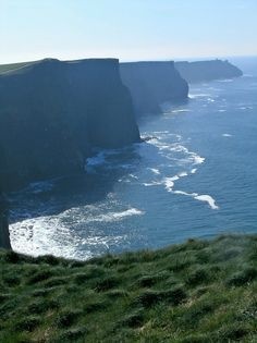The Cliffs of Moher, County Clare, Ireland. This is my happy place.
