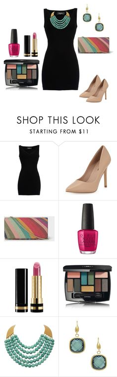 """OUTFITS  DE FIESTA"" by hellen-reyna on Polyvore featuring moda, Dsquared2, Neiman Marcus, Paul Smith, OPI, Gucci, Chanel y Rivka Friedman"