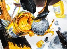 #기초디자인 #건국대기초디자인 #물감병기초디자인 #붓 #포스터칼라 [송파 넥스트미술학원] 넥스트미술학원 기초디자인 입시생 평소작 : 네이버 블로그 Wall Murals, Animals, Design, Art, Wallpaper Murals, Animales, Murals, Animaux, Wall Prints