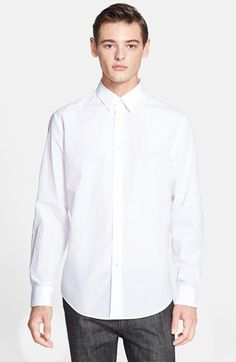 John Varvatos Collection Extra Trim Fit Sport Shirt available at #Nordstrom