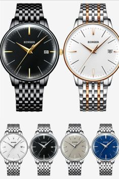 Time with date is what you need. Wear the slim attractive watch. Mens Watches Under 200, Best Watches For Men, Bulova Mens Watches, Men's Watches, Mens Fashion Blog, Men's Fashion, Warm Weather Outfits, Modern Gentleman, Go Shopping