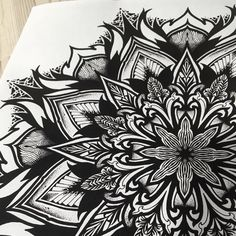 Geometric mandala art