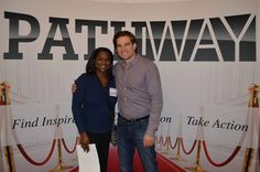 Scott McGillivray meeting one of our amazing attendees! Head to our website to register for events! #PathwayEvents