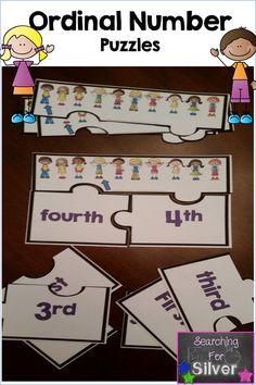 Ordinal number puzzles! …