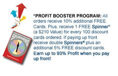 Discount Card Fundraiser! Earn Up To 93% Profit With Our Profit Booster Program! The ABC Fundraising® Discount Card! - http://www.abcfundraising.com/card-fundraising.htm