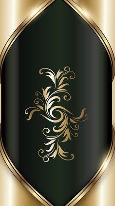 Black & gold wallpaper by artist unknown bling wallpaper Bling Wallpaper, Flowery Wallpaper, Luxury Wallpaper, Mobile Wallpaper, Royal Wallpaper, Wallpaper Downloads, Pattern Wallpaper, Cellphone Wallpaper, Iphone Wallpaper